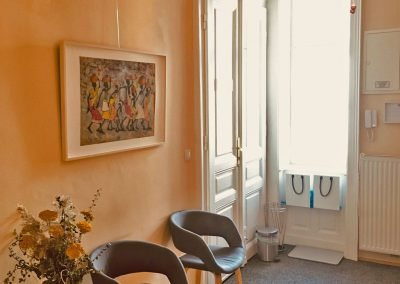 Praxisfotots Ulrike Hofer – Osteopathin und Physiotherapeutin in Wien